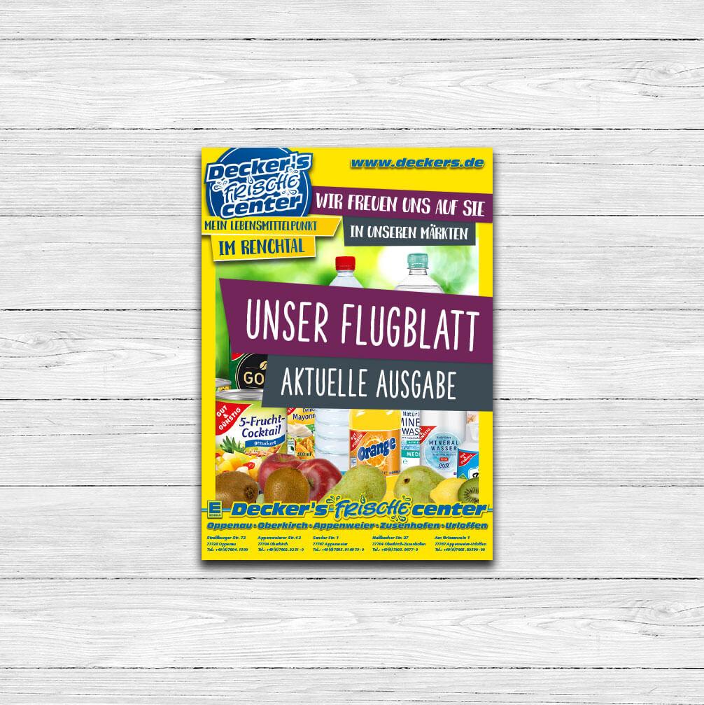 Flugblatt Opener – Snackeria