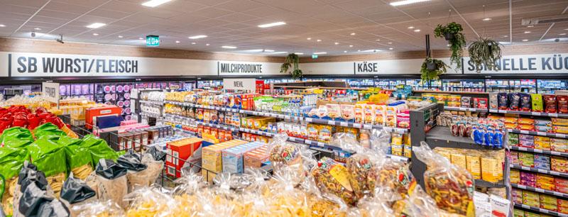 Innengestaltung – Edeka Markt Urloffen