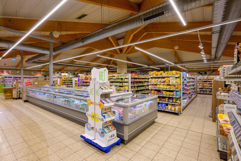 Marktinnenansicht Edeka Decker Zusenhofen