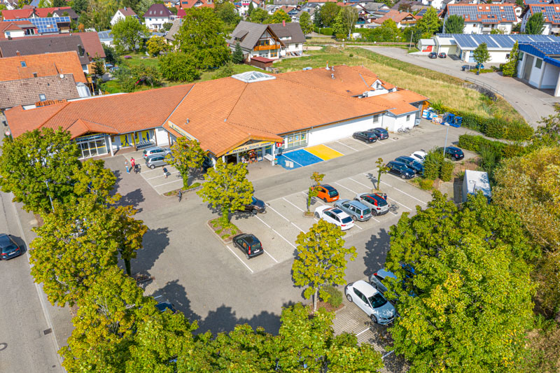 Luftaufnahme Edeka Decker Zusenhofen