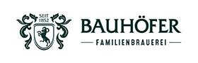 Partnerlogo Familienbrauerei Bauhöfer