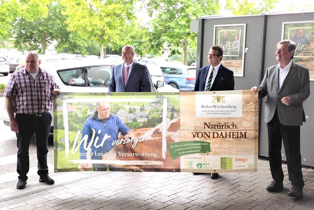 Minister Hauck zu Besuch im Markt Oberkirch